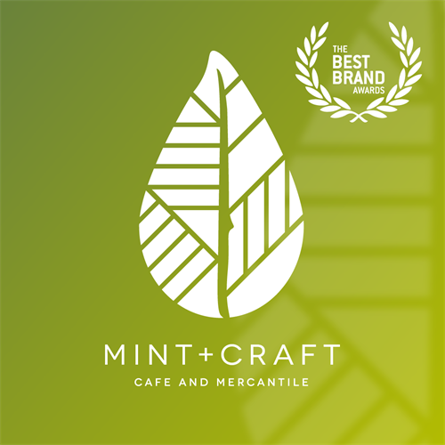 Mint and Craft Logo and Identity Design – Best Brand Award