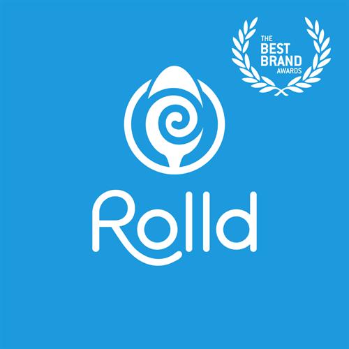 Rolld Ice Cream Logo and Identity Design – Best Brand Award