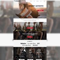 Website Design for Spinning.com