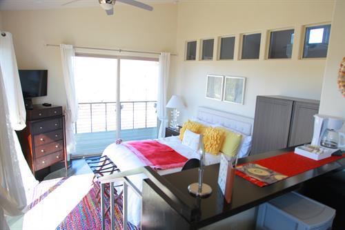 Avina Vineyard Guest Room Bedroom