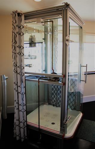 Avina Vineyard Guest Room Shower