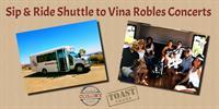 Sip & Ride Shuttle to Vina Robles Concerts - Jason Mraz & Raining Jane