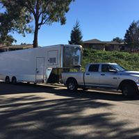 Mobile bottling trailer