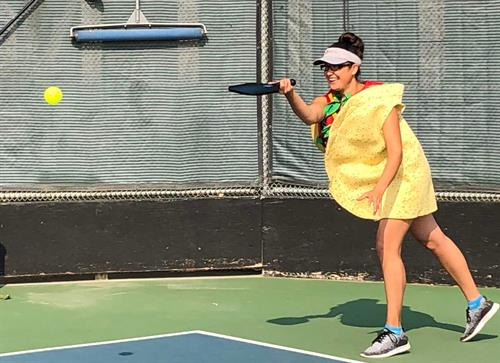 Paso Robles Pickleball Club Halloween Tournament Taco Belle