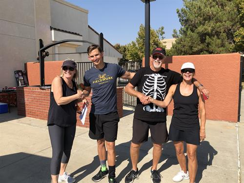 Paso Robles Pickleball Club Halloween Tournament winners