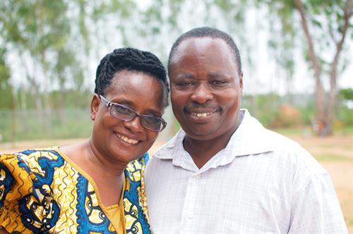 Ugandan Executive Director JP and his wife Rosemary
