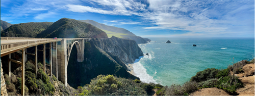 Take an unforgettable scenic tour along the California coast