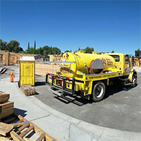 Temporary Fence & Portable Toilet Construction Rentals