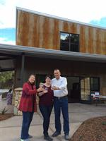 Lynn, Maggie, and Bob Tillman on the first day of business at the new estate Winery facility.  Thanksgiving, 2014.