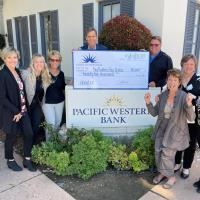 Pacific Western Bank Awards $25,000 to Big Brothers Big Sisters of San Luis Obispo County for Youth