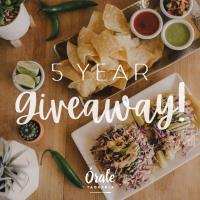 Paso Robles Taqueria to celebrate 5 years in business by giving 1 customer a year of free tacos