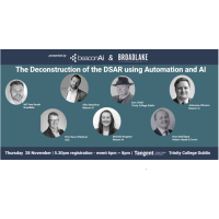 Stellar Line up for Beacon AI and Broadlake Privacy event in Dublin this Thursday 28th November