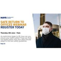 Safe Return to Offices Webinar
