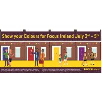 Show Your Colours for Focus Ireland