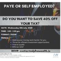 Do you want to save 40% off your Tax