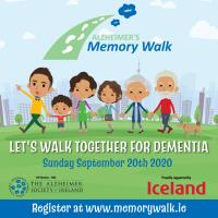 Alzheimer's Memory Walk takes place on September 20th.