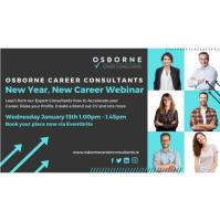 New Year, New Career: Expert Advice from Osborne Career Consultants