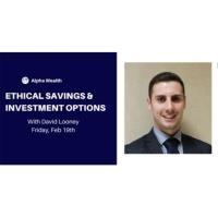 Ethical Savings & Investment Options Webinar