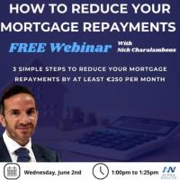 Free Webinar: How to reduce your mortgage repayments significantly