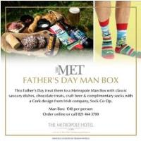 The Metropole Hotel Father's Day Man Box