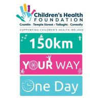 150km Your Way, One Day for Crumlin and Temple Street Children's Hospitals