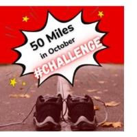 Be A SuPAWhero and take on the 50 Miles in October Challenge