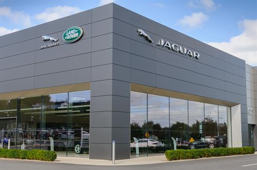 Jaguar Land Rover Dealership in Bishopstown.