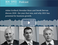 Roberts Nathan Podcast: 2020 – The Year that was, and 2021 potential for business growth