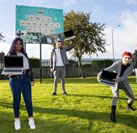 PM Group present students with laptops as part of €50k Bursary