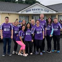 Crowleys DFK Skydive raises over €6,500 for Cork ARC Cancer Support House