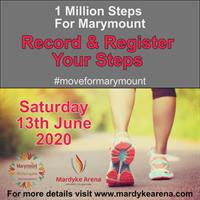 1 Million Steps for Marymount - Saturday 13th June '20
