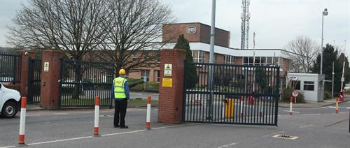 ISO9001:2015 Certified installers of gates, barriers, turnstiles and bollards.