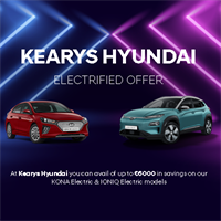 Kearys Hyundai are here to help your business switch to Electric