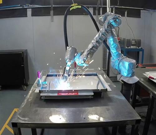 Robot welding application