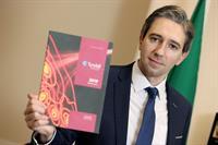 Minister Simon Harris announces Tyndall 100th H2020 European Research Funding Award