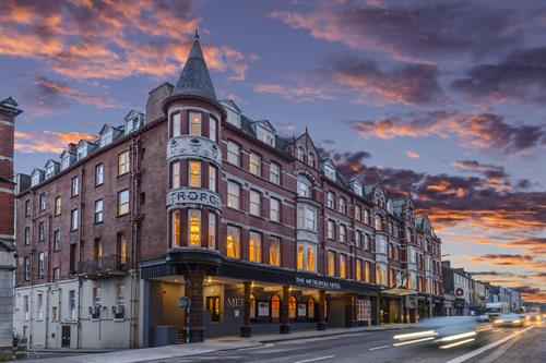Exterior of The Metropole Hotel Cork