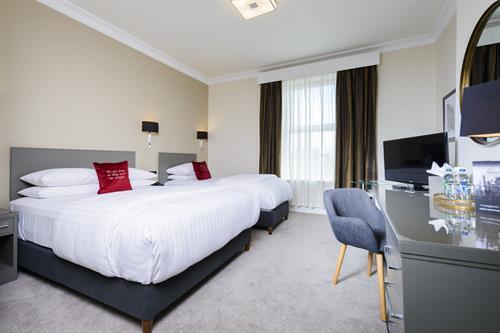 Standard Twin Room at The Metropole Hotel Cork