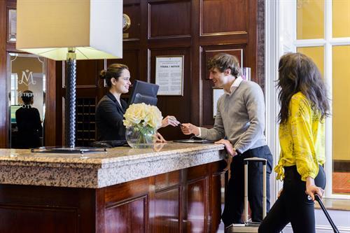 Reception at The Metropole Hotel Cork
