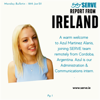 SERVE welcomes new remote intern from Argentina