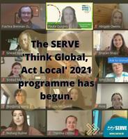 The SERVE ''Think Global Act Local'' 2021 programme has begun