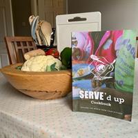 Order a SERVE'd Up Cookbook today!