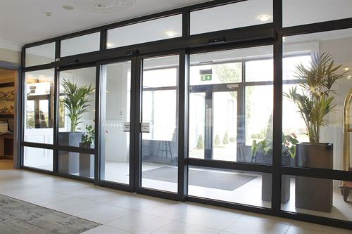 Automatic Bi Parting Sliding Doors