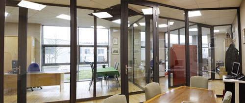 Internal Glazed Office Partitions