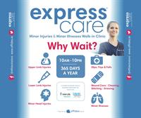 10% new account discount for Affidea ExpressCare Minor Injuries & Illnesses Walk-In Clinic in The Elysian