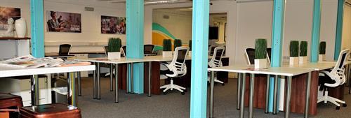 Hot Desking Area
