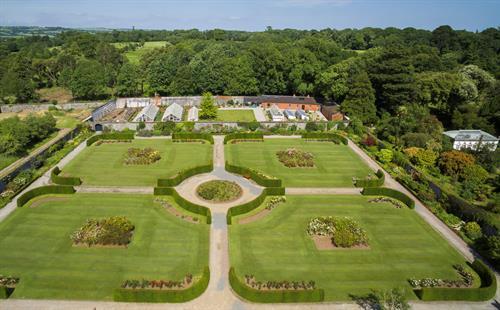 Formal Gardens at Fota House