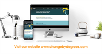 Change by Degrees are celebrating the launch of their new Website