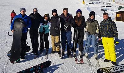 Company Ski Trip 2020