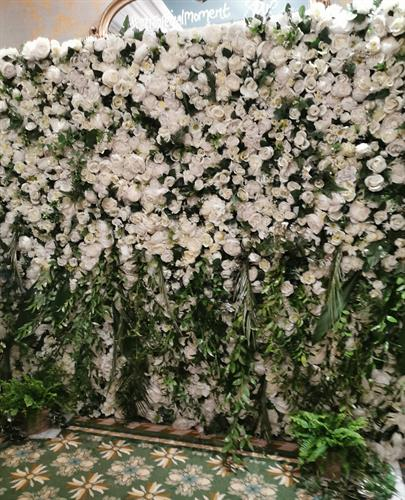 Our Neutral Flower Wall