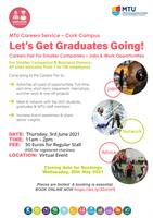 Careers Fair for Smaller Companies and Business Owners MTU Cork Campus Virtual Event 3 June 2021